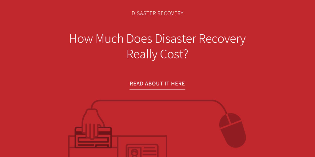 How much does a disaster recovery plan cost