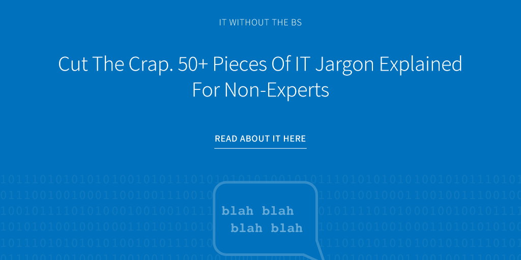 IT jargon for non-experts