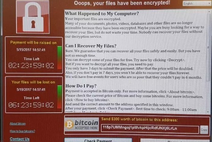 The Ransomware attack on the NHS