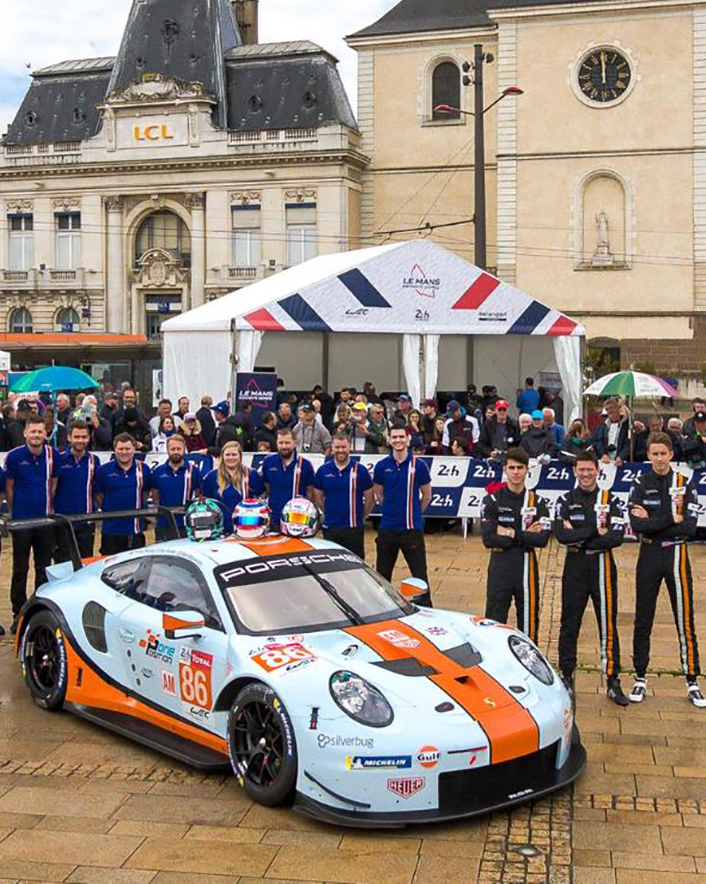 Gulf Racing partnership