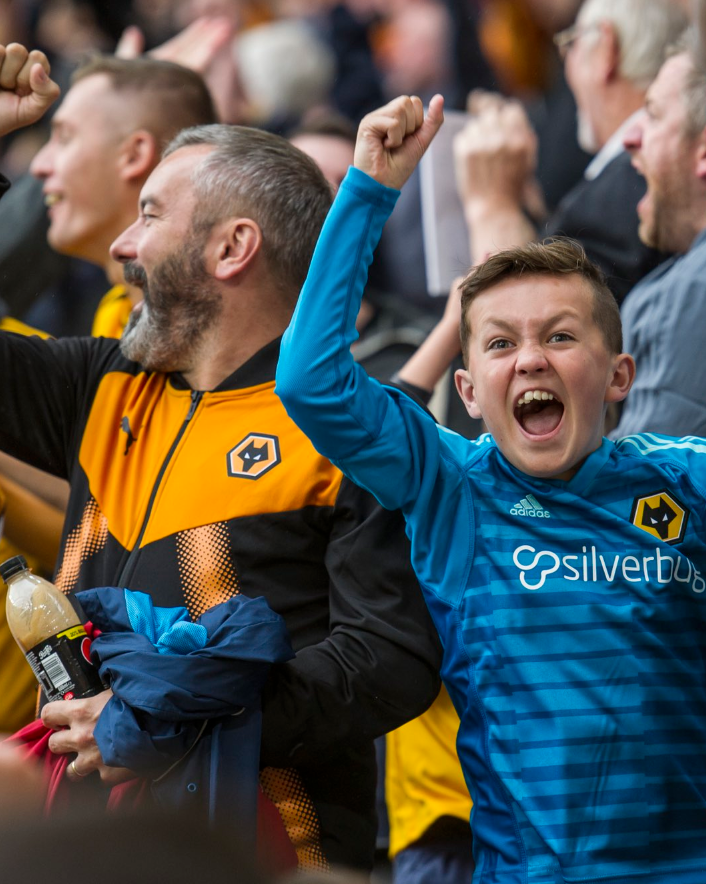 Silverbug are partners with Wolves F.C