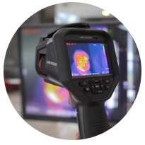 Professional handheld Thermographic Camera